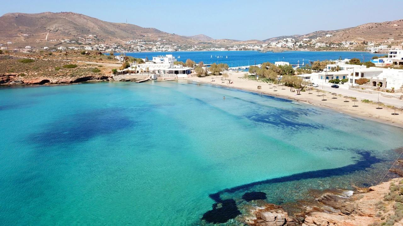 Μια από της καλύτερες παραλίες της Σύρου